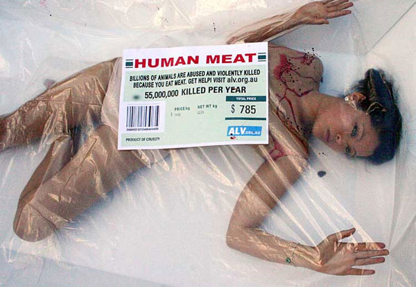 Meat equals female repression